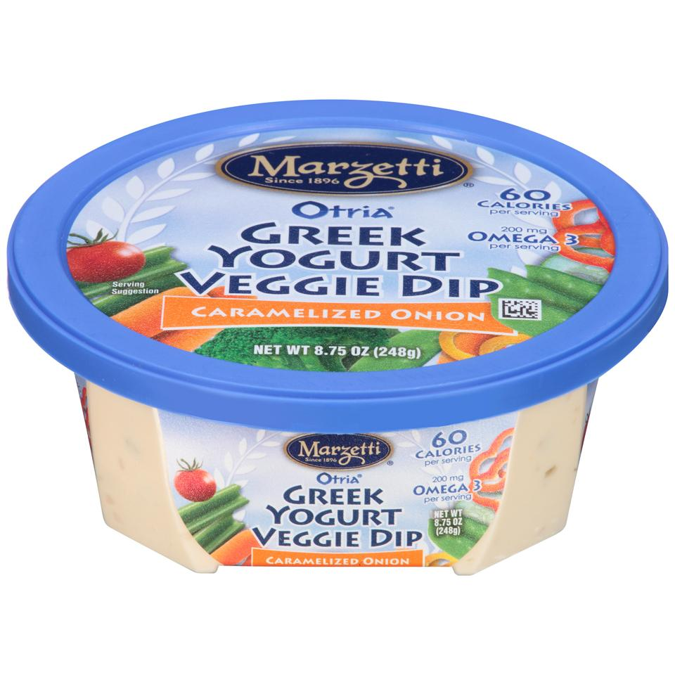 Otria<sup>®</sup> Greek Yogurt Veggie Dip - Carmelized Onion