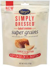Simply Dressed<sup>?</sup> Garlic & Butter Flavored Super Grains Croutons