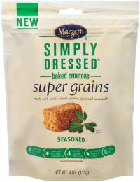 Simply Dressed<sup>?</sup> Seasoned Super Grains Croutons