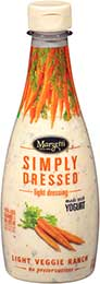 Simply Dressed & Light Veggie Ranch Dressing