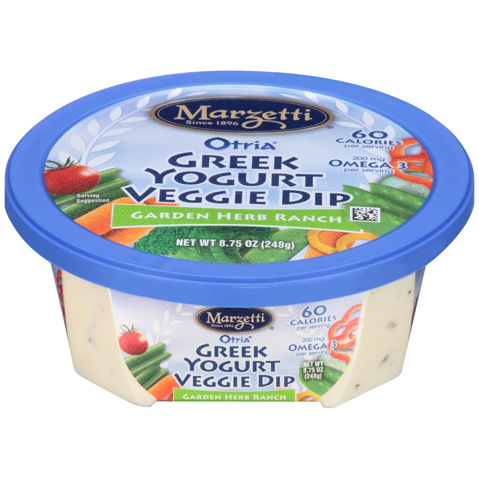 Otria<sup>®</sup> Greek Yogurt Veggie Dip - Garden Herb Ranch