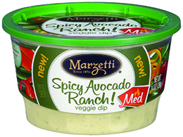 Marzetti<sup>??</sup> Spicy Avocado Ranch! Veggie Dip